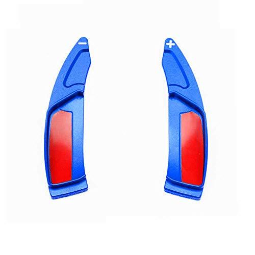 XQRYUB Paletas de Volante de Coche, Palanca de Cambios de extensión, el timón, Apto para Peugeot 208 2008308 3008508 5008 SW GT