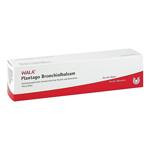WALA Plantago Bronchialbalsam, 100 g Salbe
