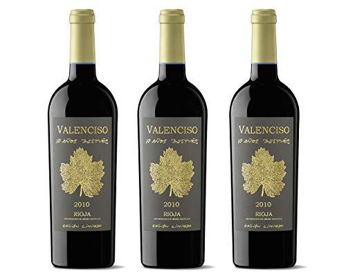 Valenciso 10 Años Después 2007 (3 BOTELLAS de 750Ml). Bodega Valenciso. Pack de 3 botellas. Embotellado en 2017. D.O. La Rioja.