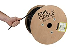 HIGH PERFORMANCE NETWORK CABLE. Our outdoor cat 6 lan cable is 23 AWG with 4 pairs (8 conductors). The overall aluminum (AL) foil shield helps eliminate cross-talk and prevents electromagnetic interference (EMI). Suitable for 1 Gigabit and 10-Gigabit...