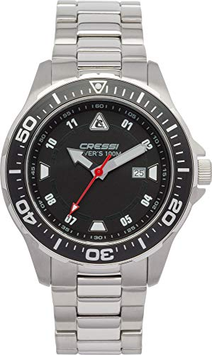 Cressi Unisex's Manta Coloroma Professional Dive Watch with Mineral Glass...