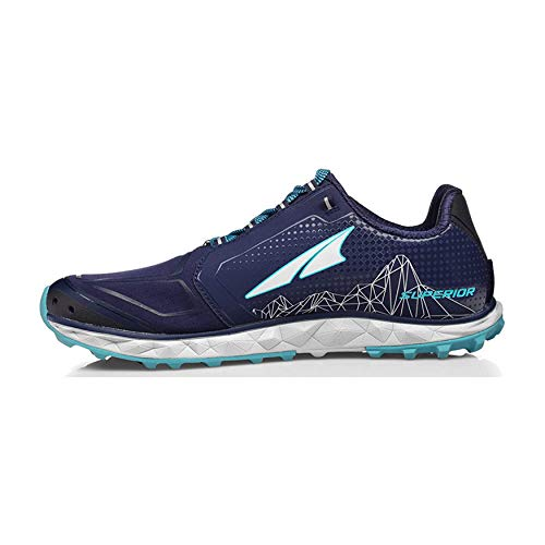 ALTRA Women's AFW1953G Superior 4 Trail Running Shoe, Dark Blue - 11 M US