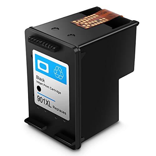 Remanufactured HP 901XL 901 Druckerpatronen, Hohe Kapazität, kompatibel mit HP OfficeJet J4500/J4560/J4500/J4500/J4524/J4535/J4540/J4580/J4624 /J4660/J4680/G510a/G510g/G510 n (1 Schwarz)