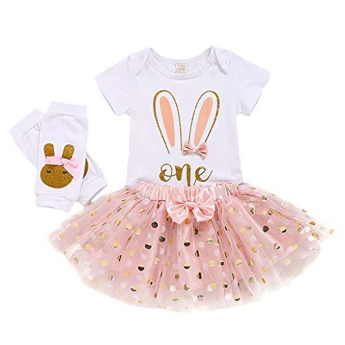 MRULIC Baby Mädchen Lace Floral Ruffle Strampler Bodysuit Overall ärmellose Outfits Sunsuit Schöne Sets(X1-Rot,70)