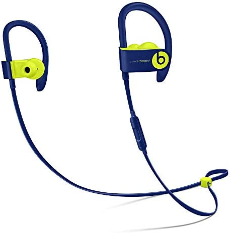 Beats by Dr Dre Powerbeats3 Wireless Pop Indigo Pop Collection in Ear Headphones MREQ2LL A product image