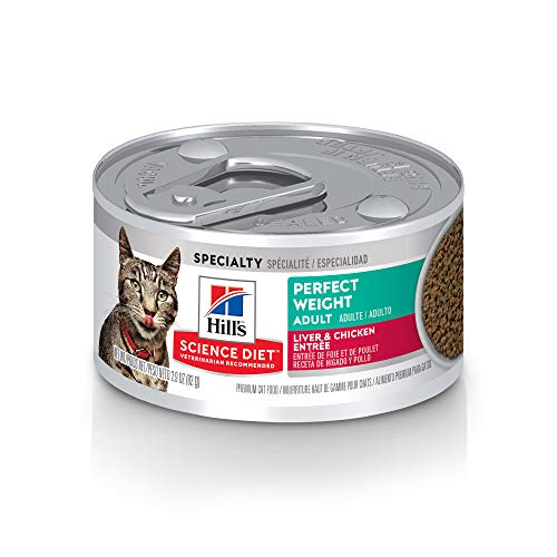 Hill's Science Diet Wet Cat Food for Perfect Weight