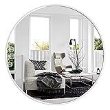 Espejos Decorativos de Pared, Espejos Grandes de Pared Vintage - 70cm, Blanco