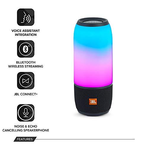Haut-parleur Bluetooth portable JBL PULSE 3 Noir - 2