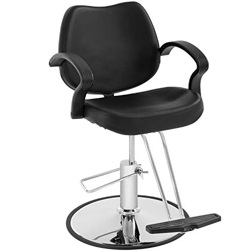 Hair Salon Chair Styling Heavy Duty Hydraulic Pump Barber Chair Beauty Shampoo Barbering Chair for...