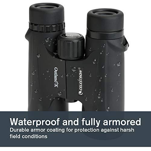 Celestron 71346 8 x 42 Outland X Binocular - Black