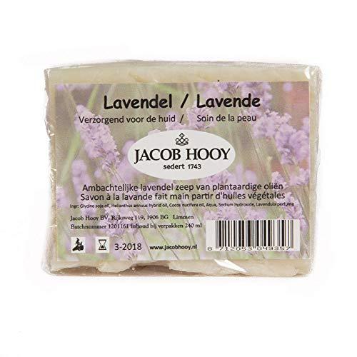 Jacob Hooy Lavendel Zeep Niet Vloeibaar, 240 Ml