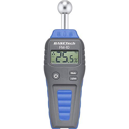 Basetech FM-10 Materialfeuchtemessgerät Messbereich Baufeuchtigkeit (Bereich) 0.1 bis 99.9{6f751c87b8bb98d34009fc1ccade05eb86f1c3238de830f08a6ac114ef390509} vol Messbereich Holzfeucht