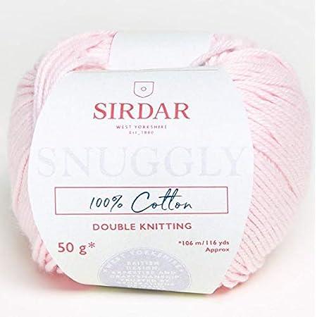 Sirdar Snuggly 100/% Cotton DK 763 Powder