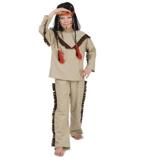 buy'n'get Indianer 2tlg Kinder Kostüm Gr 116
