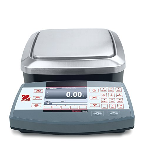Price comparison product image Ohaus R71MD6 Die Cast / Stainless Steel Ranger 7000 Compact Bench Scale,  6 kg Capacity,  0.0002 lb. Readability