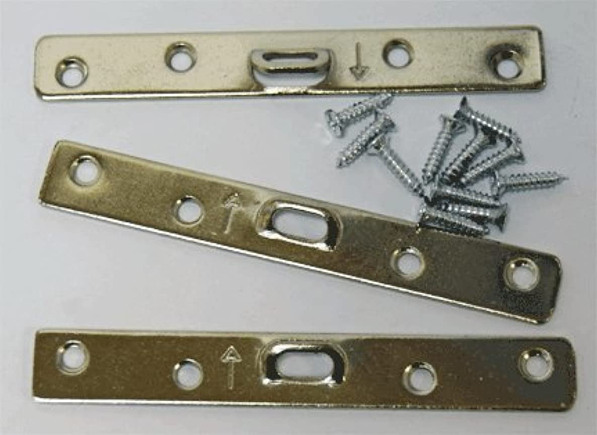 Extra Heavy Duty Large 4 Hole Super Steel Picture Hanger (20 Pack) With Screws