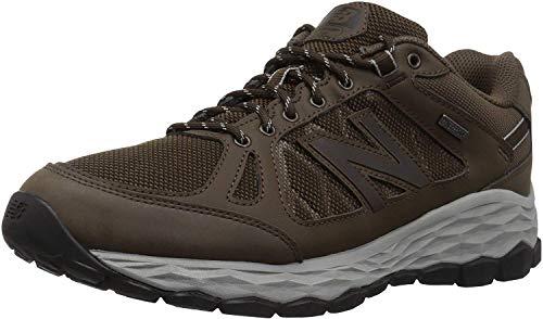 New Balance Men's 13501 Fresh Foam Walking Shoe, Brown, 10 D US