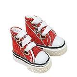 Mumaya Doll Shoes Cute Skateboarding Shoes for Finger Breakdance/Fingerboard/Doll Shoes/Making Sneaker Key Rings