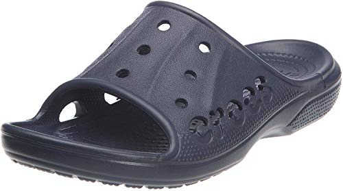 Crocs Baya Slide, Sandales Mixte Adulte, Bleu (Navy) 48/49 EU