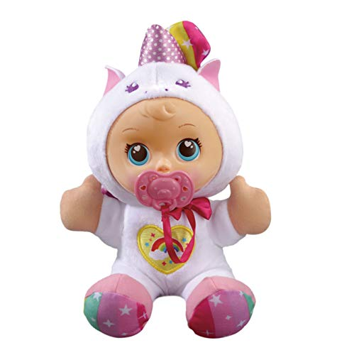 VTech - Little Love - Mijn Knuffelpop Eenhoorn - Inclusief fopspeen - Educatief Babyspeelgoed - Stevig en duurzaam design - Leeftijd: 1 - 6 jaar