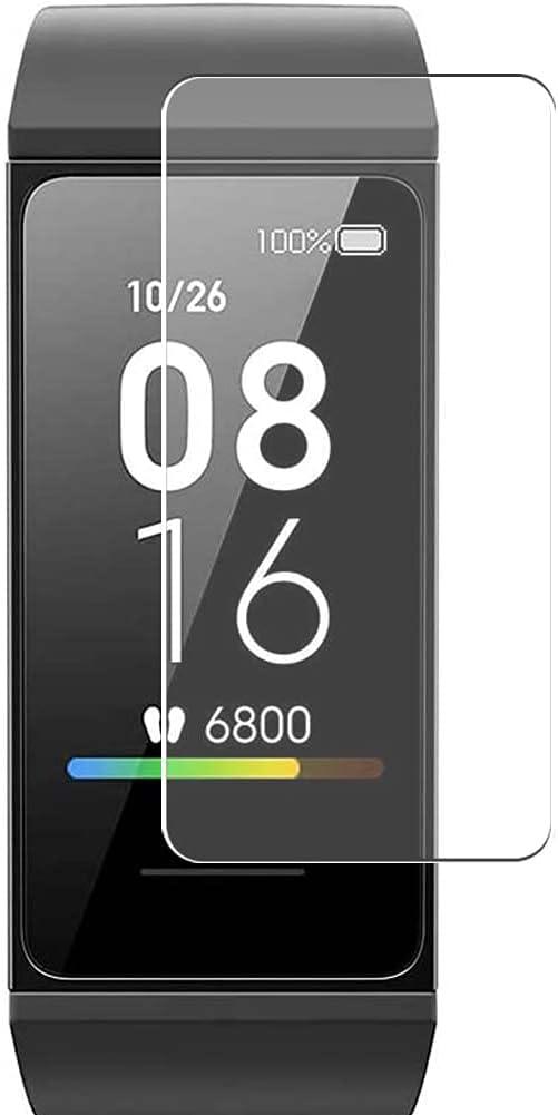 Vaxson 3 Unidades Protector de Pantalla, compatible con Xiaomi Mi Band 4C Fitness Tracker smartwatch [No Vidrio Templado] TPU Película Protectora Film Guard