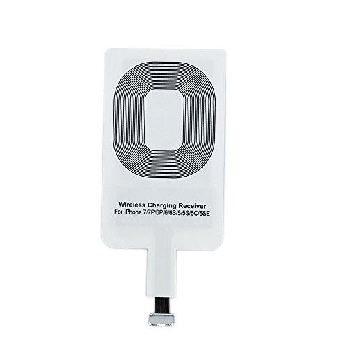Qrity Qi Wireless Charger Receptor de Cargadores Qi para i Phone 6/5S/5C iPhone 6s 7 i Phone 8