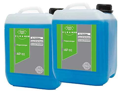 2x5 Liter Felgenreiniger für Alufelgen Stahlfelgen säurefrei