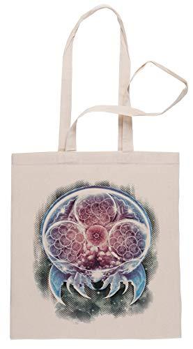 Rundi Das Epos Metroid Organismus Einkaufstasche Shopping Bag Beige