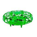 Maginon TQC-1, mini drone per bambini, per interni, per bambini, facile da volare, quadro-Copter in verde