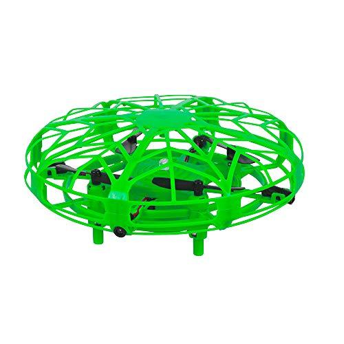Maginon TQC-1, Kinderdrohne, Indoor Mini-Drohne für Kinder. Kinderleicht zu Fliegender Quadro-Copter in grün