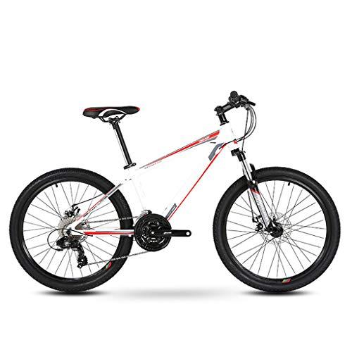 XXL Mountain Bike Alluminio Bicicletta Biammortizzata Freno a Doppio Disco Bcicletta da Montagna per Uomini e Donne Adulti (26 Pollici, 21 velocità)