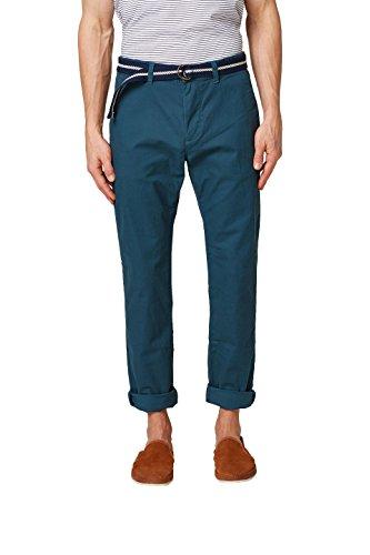 Esprit 028ee2b001 Pantalones, Azul (Blue 430), (Talla del Fabricante: 33/30) para Hombre