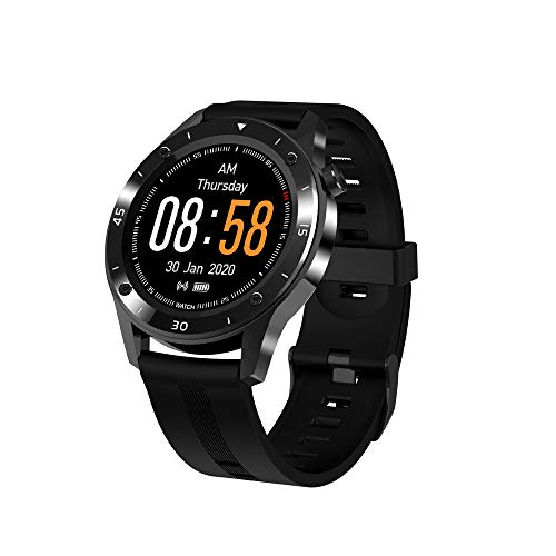 N \ A Smart Watches for Men Women, Fitness Tracker Watch with Heart Rate Sleep Monitor, 1.54' Full Touch Screen, IP67 Waterproof Pedometer, Smart Watch for Android Phones and iOS Phones