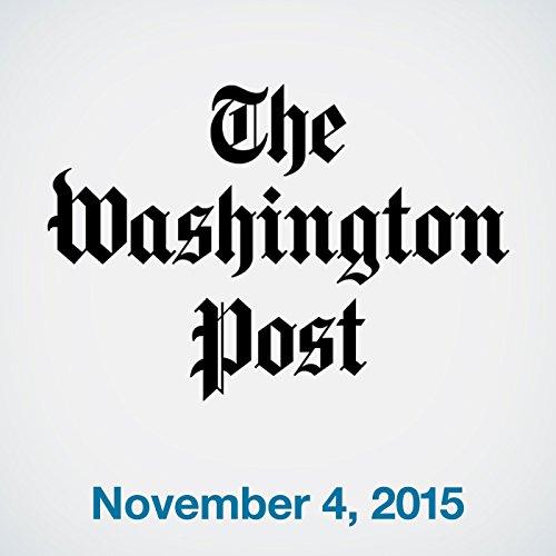 Top Stories Daily from The Washington Post, November 04, 2015 copertina