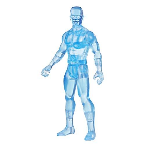 Marvel Figura de acción de 9,5cm de Iceman de Retro 375 Collection de Hasbro Legends