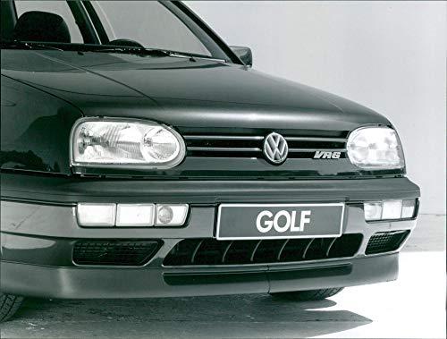 1991 Volkswagen Golf Mk III VR6 - Foto de prensa vintage