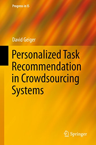 Personalized Task Recommendation in Crowdsourcing Systems (Progress in IS) (English Edition)