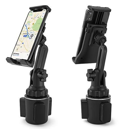 MidGard Universal Autohalterung für KFZ-Getränkehalter, Cup Mount für Smartphones, Tablet PCs, Navis