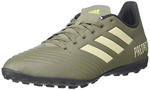 Adidas Predator 19.4 TF - Zapatillas de fútbol para Hombre, Verde (Legacy Verde/Arena/Solar Amarillo), 42.5 EU