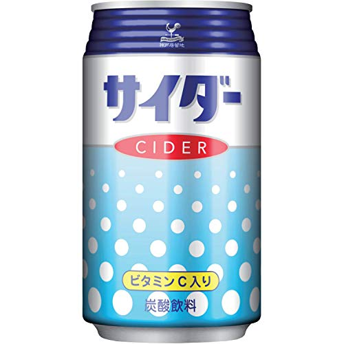 富永貿易 神戸居留地 サイダー 350ml×24本