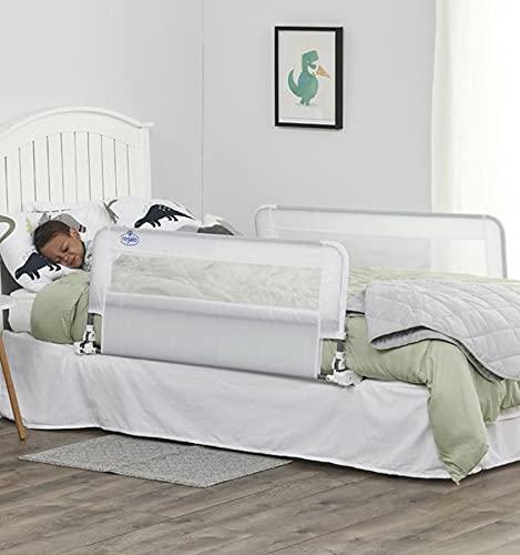 Regalo HideAway - Riel de cama de doble cara, blanco, 109.22 x 45.72