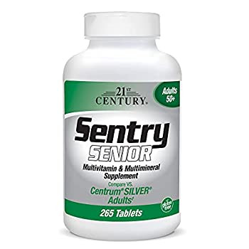 21st Century Sentry Senior Tablets 265 Count