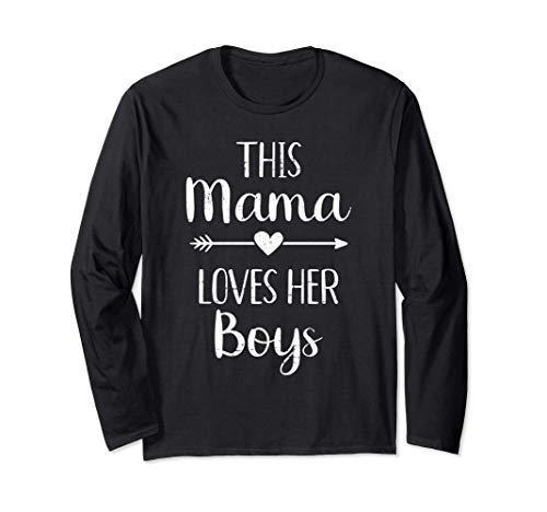 Mamá esta mamá ama a sus hijos Manga Larga