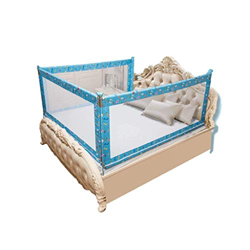 Pkfinrd multifunctionele hek, kinderkamer bed kruipen anti-val Guardrail binnen ademend spel hek bed leuning, 1,5-2M