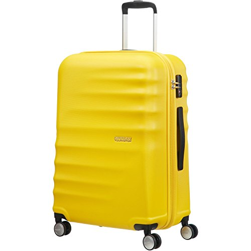American Tourister Wavebreaker 4-Rollen-Trolley 67 cm Sunny Yellow