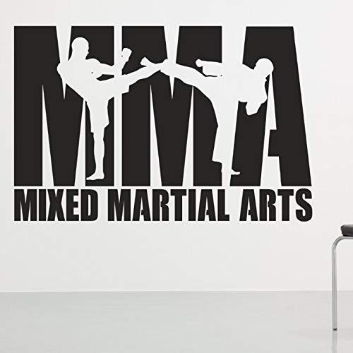Boxing Club Mma Taekwondo Karate Tag Kick Auto Aufkleber Combat Free Poster Der Angreifer Wall Decoracion 58X89Cm