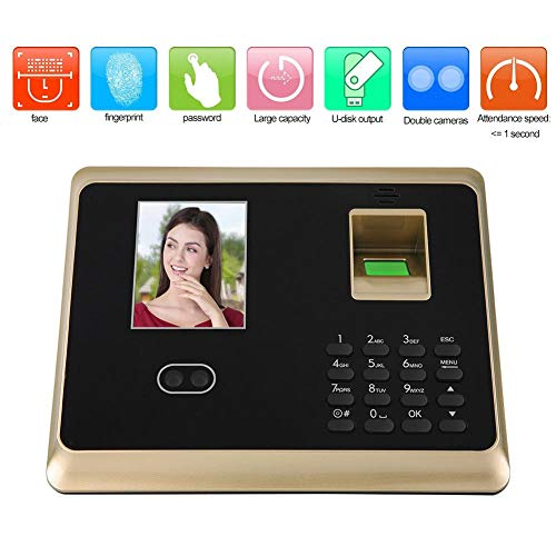 Affordable Tosuny 2.8 Inch HD TFT Intelligent Biometric Attendance Machine Face Fingerprint Password...