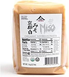 Kyoto Shiro White Miso Paste Aged 3 Months by Namikura Miso Co 1 kg (2.2 lbs)