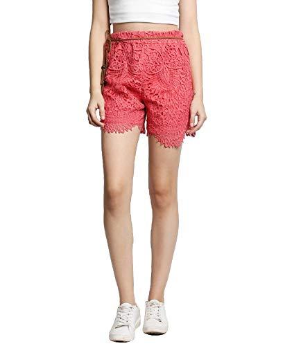 DJ&C by fbb Women's Shorts (830031658004_Coral_30)