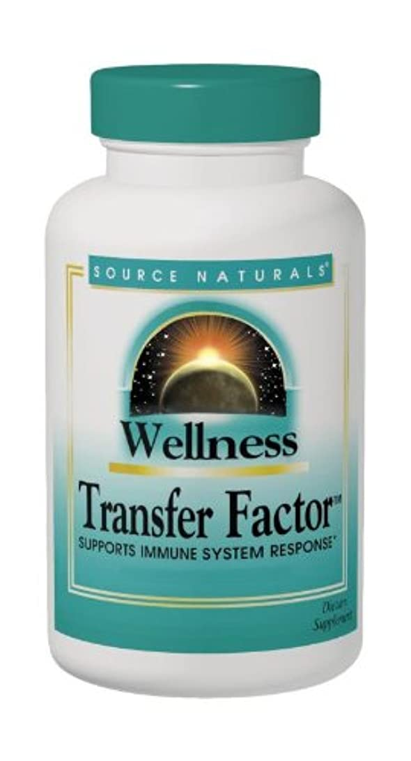 コジオスコ再撮り良さ海外直送品 Source Naturals Wellness Transfer Factor, 30 Caps 12.5 mg